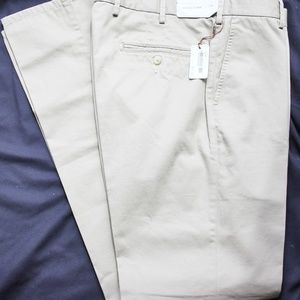 New Peter Millar Crown Flat Front Twill Pants 34